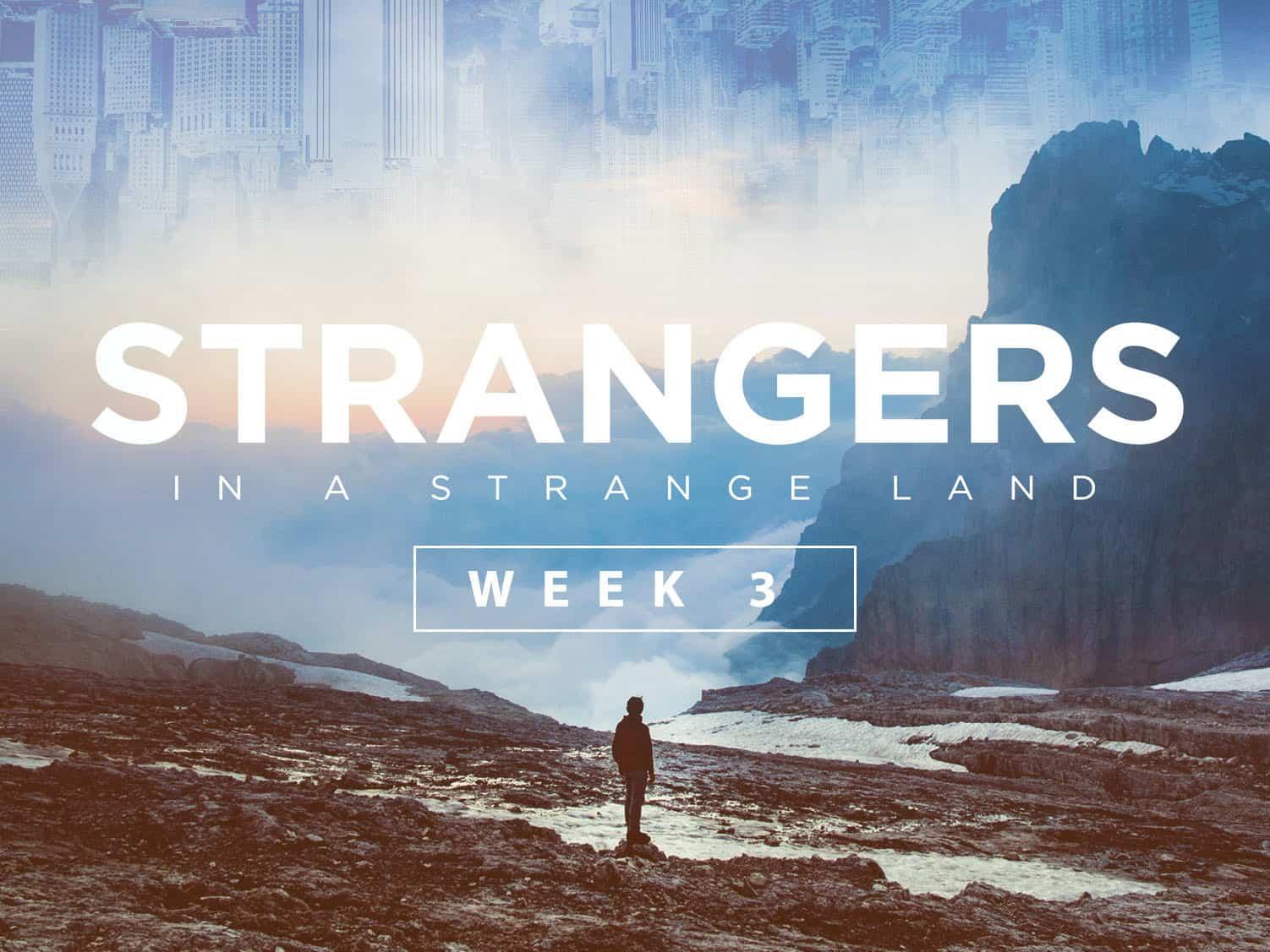 Strangers in a Strange Land: Week 3